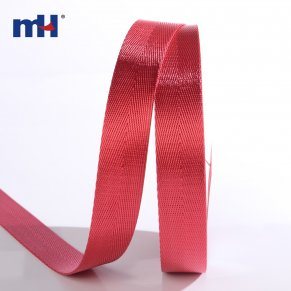 red color polyester webbing