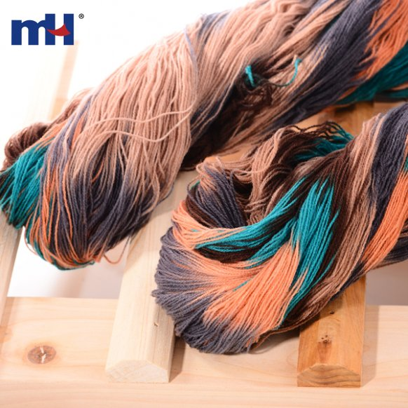 Polyester Hand Knitting Yarn