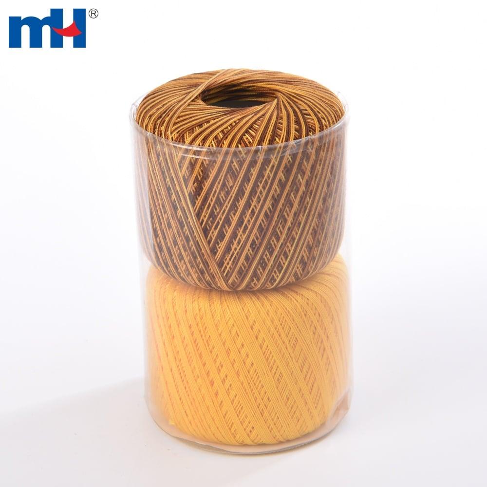 100% Cotton Pearl Thread Ball For Crochet