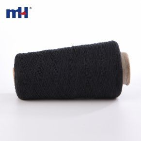 black cotton sewing thread