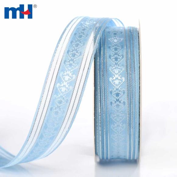 голубая прозрачная лента