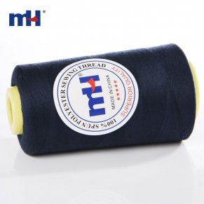 navy polyester sewing thread