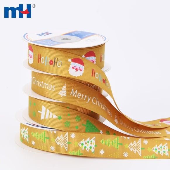 merry christmas ribbon