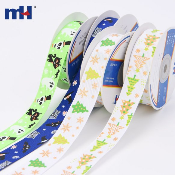 grosgrain halloween ribbon
