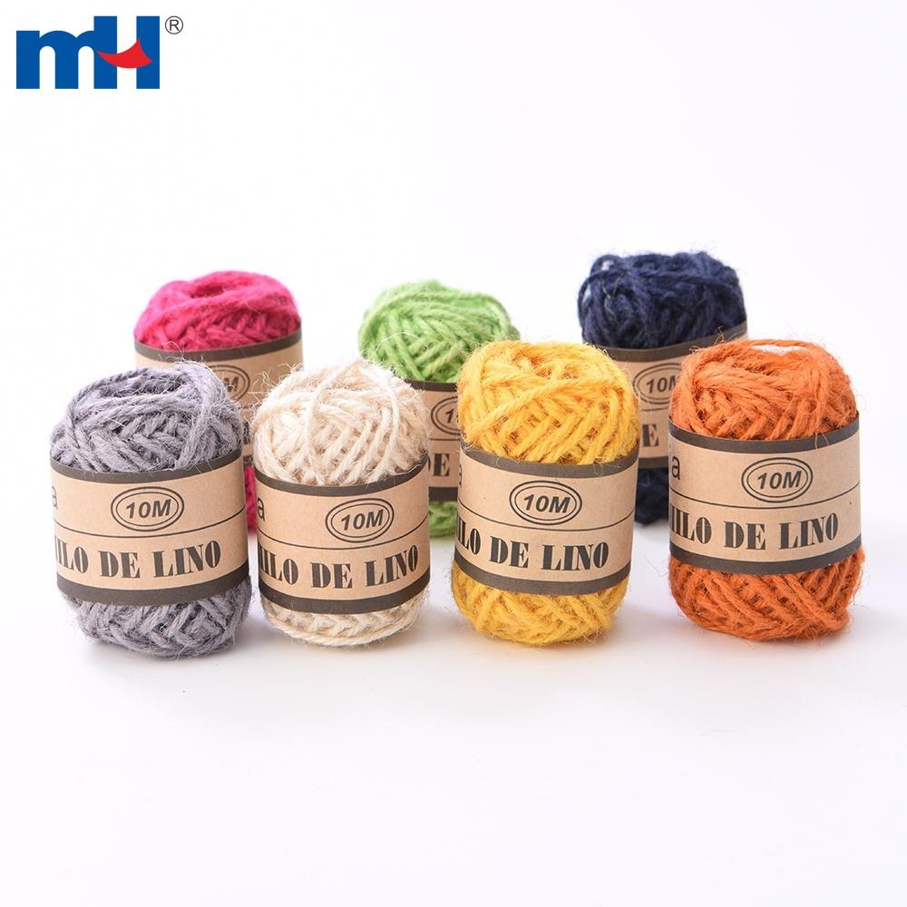 2mm Color Natural Jute Rope Hemp Twine Rope for DIY