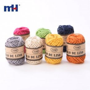 colored hemp rope