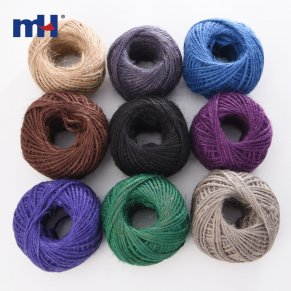 3mm color hemp rope
