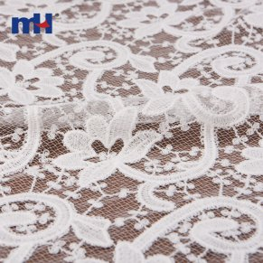 floral embroidered lace
