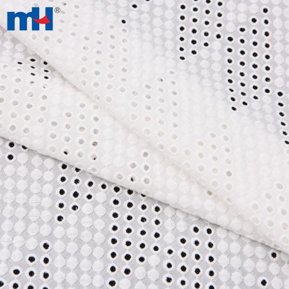 Oeillet coton géométrique