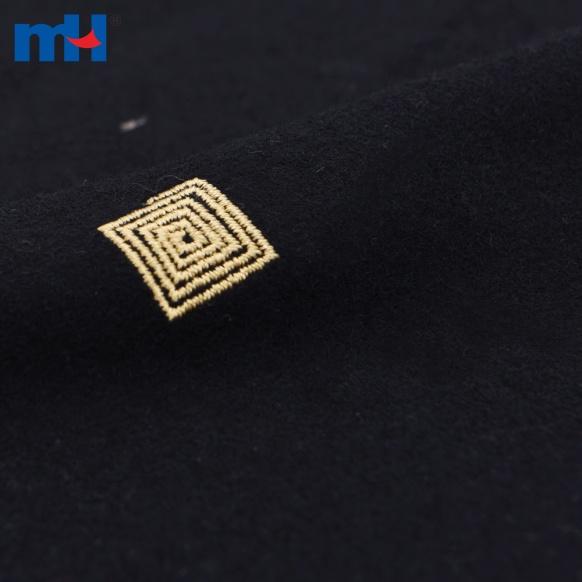 embroidered velvet ribbon