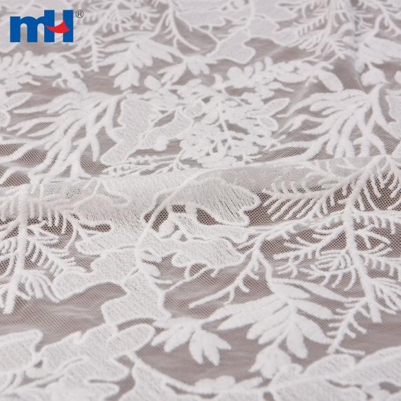 feuilles maille tissu