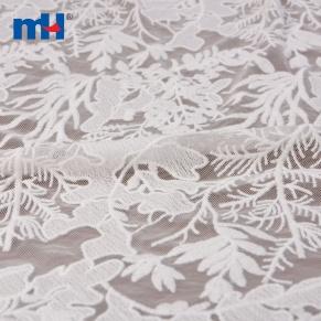 leaves mesh fabric