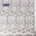 white embroidery mesh lace