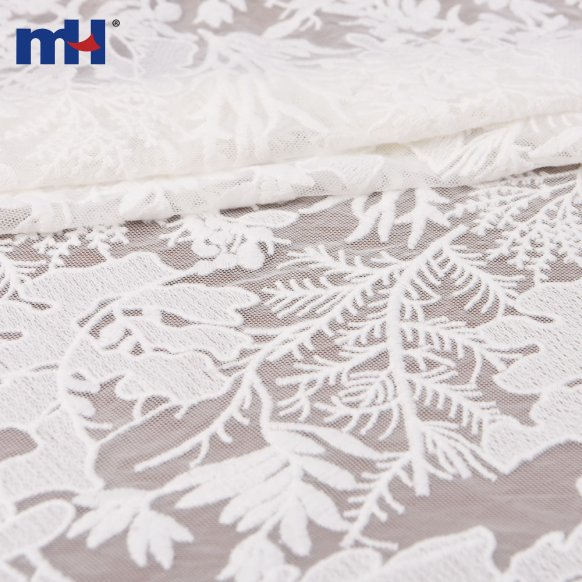leaves mesh lace
