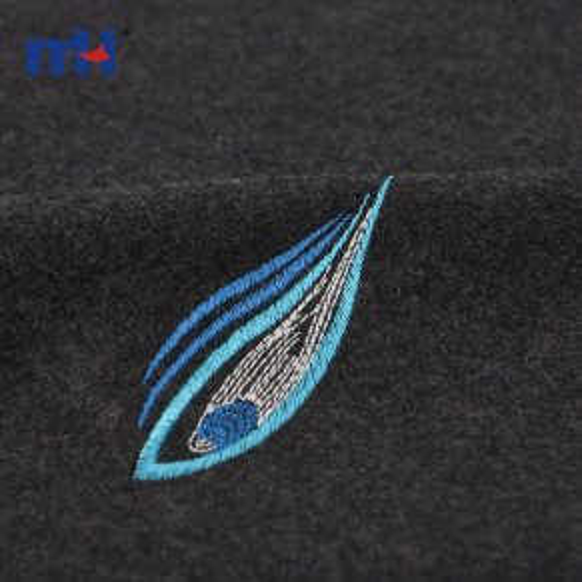 embroidered felt fabric