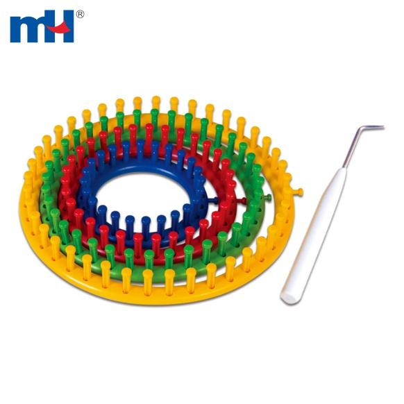 Juego de telar redondo de plástico 7022-0040