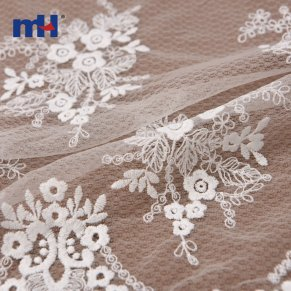 scalloped edging embroidered lace
