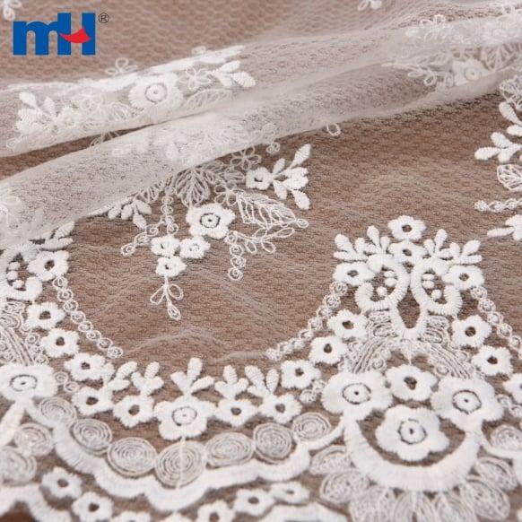 maglia ricamata floreale