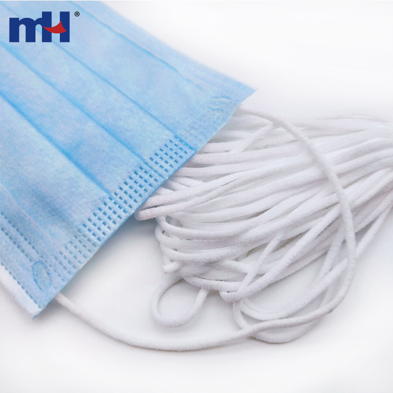 3mm Disposable Face Mask Elastic Rope