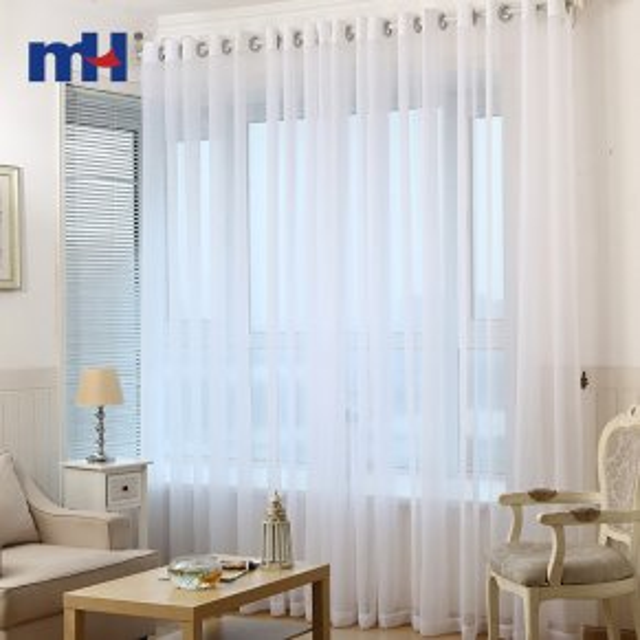tela de cortina transparente