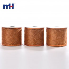 Copper wired ribbon
