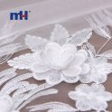 20NL-0104-3 3d mesh lace fabric