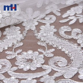 19NL-7022-3 bridal lace fabric