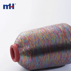 multi-color metallic yarn