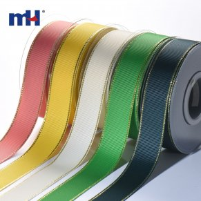 6105-9002-Gold Metallic Edge Ribbon