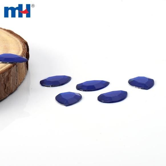blue acrylic rhinestone