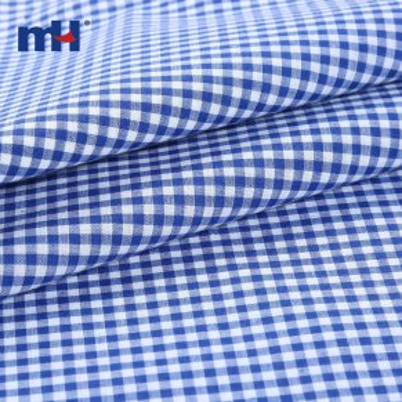 8157-0022-polycotton gingham fabric