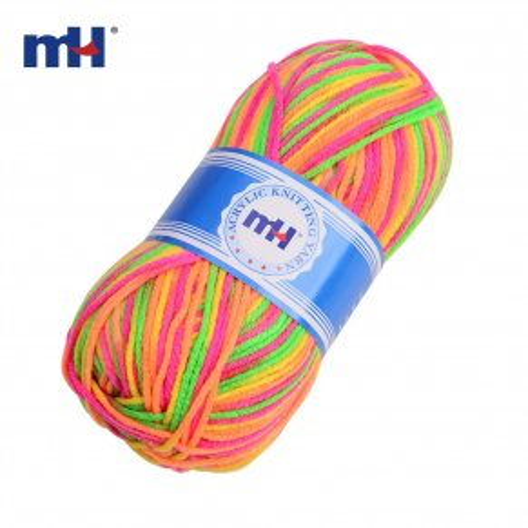 knitting yarn multicolor