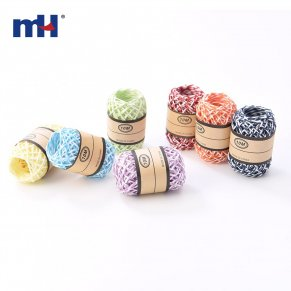 multicolor raffia ribbon