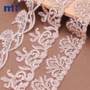 corded wedding lace