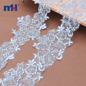 sequins lace trim