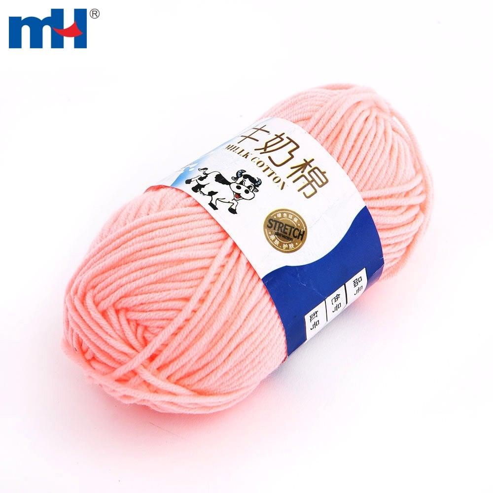 milk cotton knittinig yarn