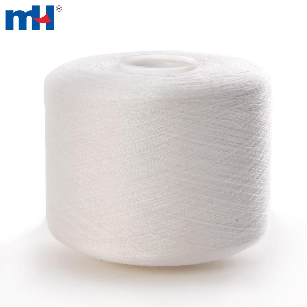 white polyester thread