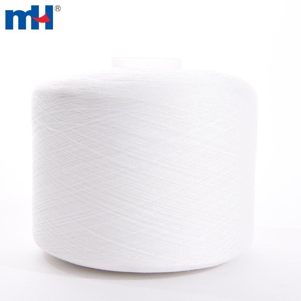 raw white sewing thread