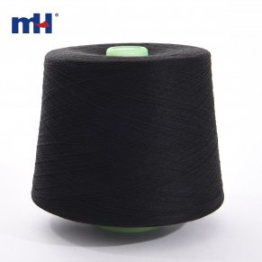 black polyester yarn