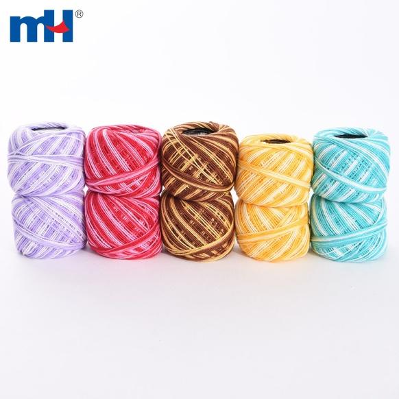 hilo de bordar de algodón