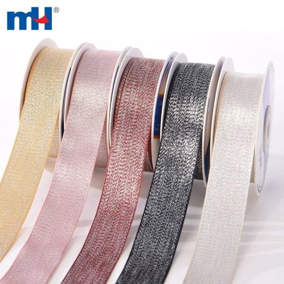 Metallic Woven Ribbon