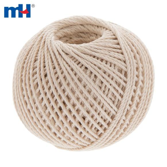 Cuerda de macramé de algodón