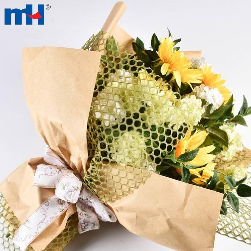 çiçek ambalaj kağıdı örgü