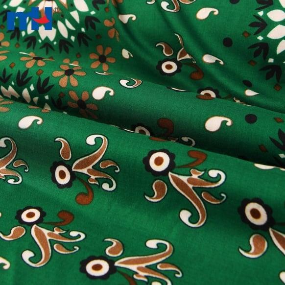 32S مخصص مطبوعة قماش رايون فستان Material-21NW-0078