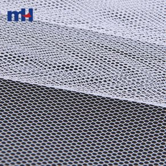 Tela de malla rígida hexagonal 100% nailon-8209-0113