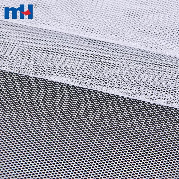 Tela de malla rígida hexagonal 100% poliéster-8209-0076