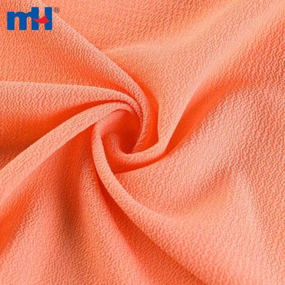 Seersucker Crinkle Chiffon Fabric-8104-0040