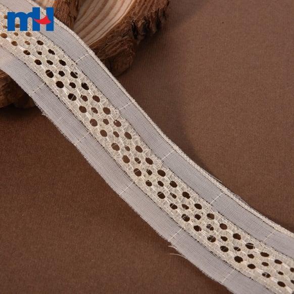 Recorte de encaje 100% algodón-6322-0003
